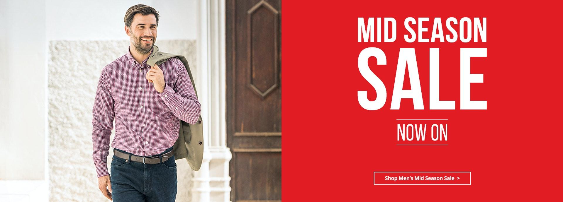 Men's Mid Season Sale