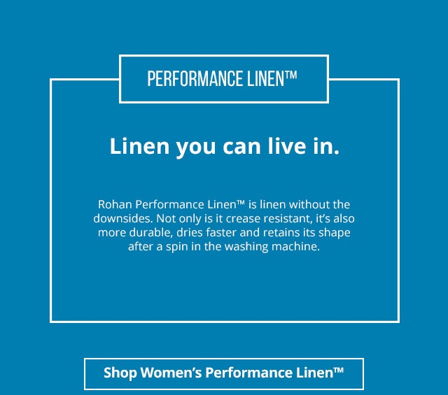 Shop Women's Performance Linen™