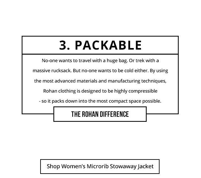 Shop Women's Microrib Stowaway Jacket