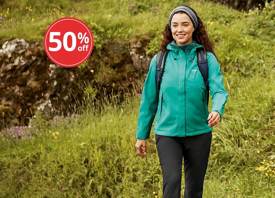 Women's Vapour Trail Jacket. Now $89.50.
