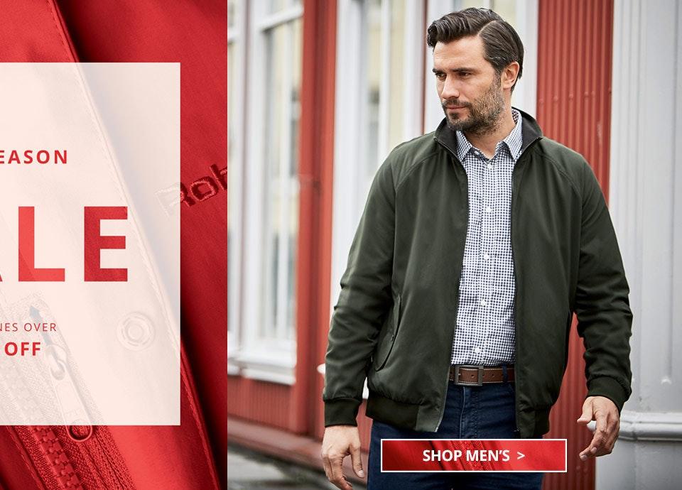 Shop Men's Mid Season Sale.