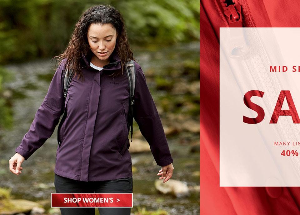 Shop Women's Mid Season Sale.
