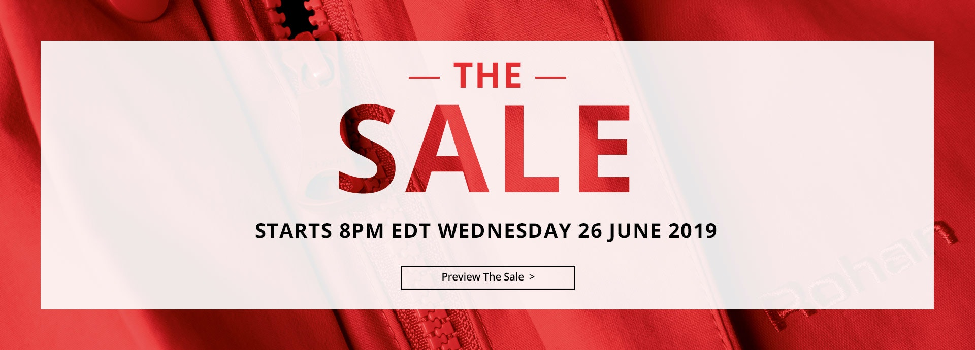The Sale Preview