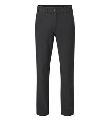 Waterproof lined, breathable walking trousers.