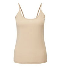 Lightweight technical camisole.