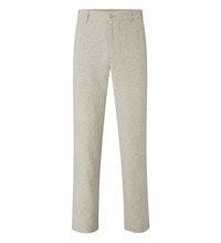 Technical, smart/casual linen trousers.
