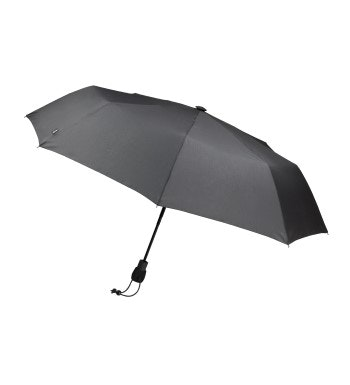Robust travel umbrella.