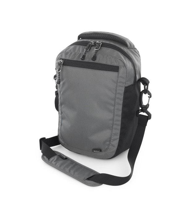 Transit 10 - Slim, cross-body, multi-pocket bag.