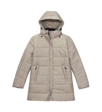 Warm, functional, 3/4 length town coat.