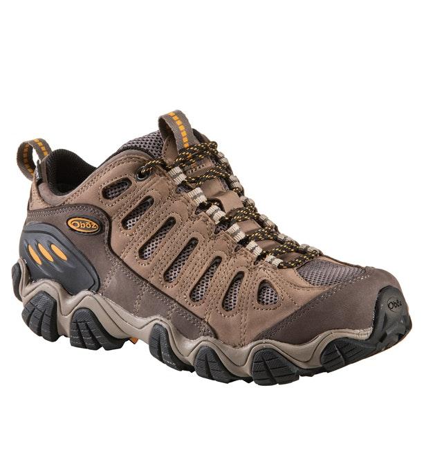 Oboz Sawtooth Low B Dry - Waterproof, low-cut approach shoe.