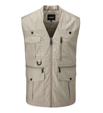 Versatile, 11-pocket adventure vest.
