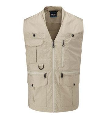 Versatile, 11-pocket adventure vest.