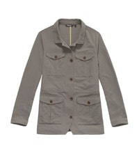 Safari-inspired, multi-pocket canvas jacket.