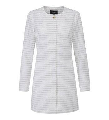 Smart casual, linen-blend jacket.