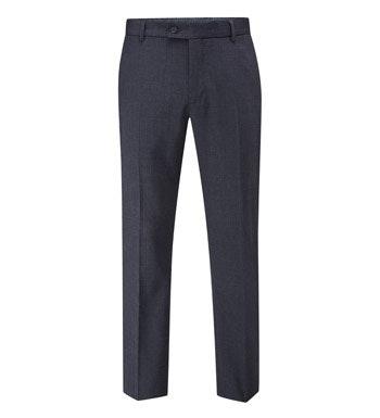 Machine washable, technical travel suit trousers.