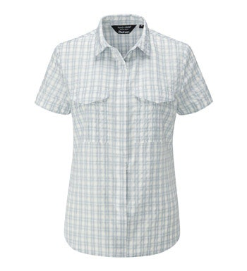 Trekking shirt with sun and insect protection.