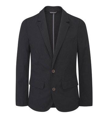 Lightweight, crease resistant travel blazer.