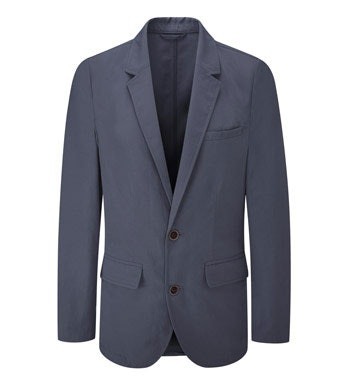 Lightweight, crease resistant travel blazer.