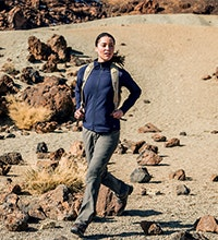 A super comfortable, wind-resistant softshell jacket.