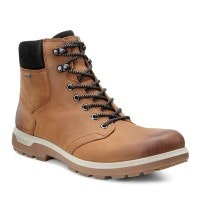 Versatile, high-cut waterproof walking boot.