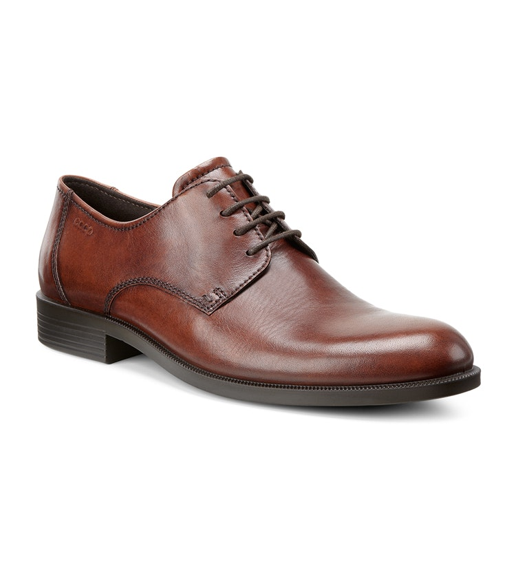 ECCO Harold - Classic leather Derby-style shoe. 8aaaf89874aef