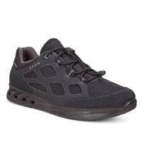 Waterproof walking shoes.