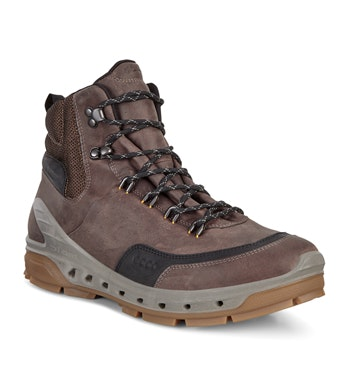 Durable waterproof walking boots.