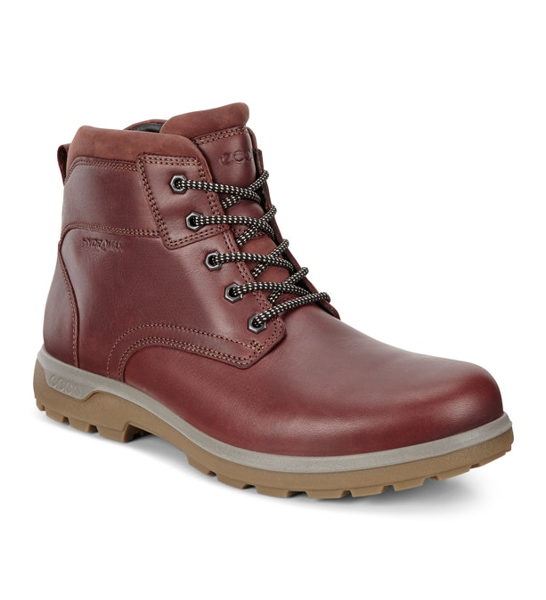 Ecco Whistler Rockvale HM  - Leather lace up hiking boot.
