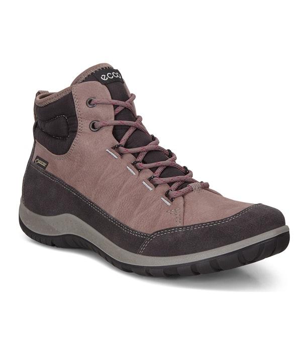 Ecco Aspina Rora Mid GTX - Waterproof mid-cut walking boot.