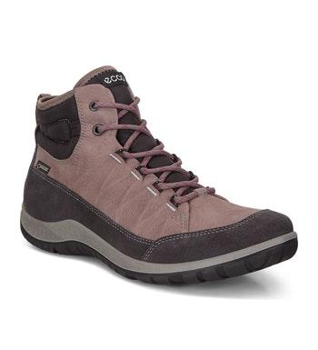 Waterproof mid-cut walking boot.