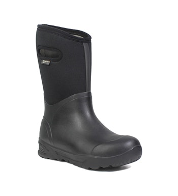 Waterproof boot for cold and wet conditions.