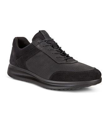 Sleek modern lace up shoes.