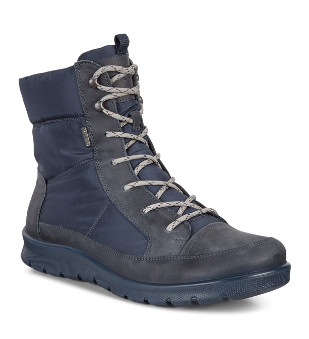 Ecco Babett Lace Up Boot GTX - Waterproof mid-cut lace up boot.