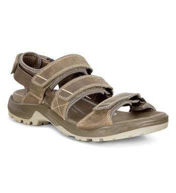 Three-strap adventure travel sandal.