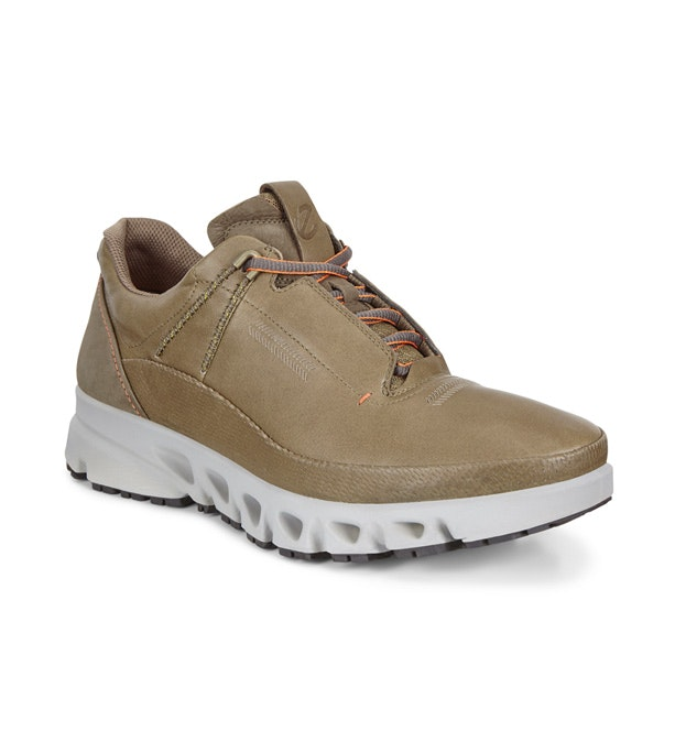 Ecco Canas - Tough leather outdoor trainers.