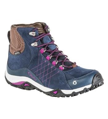 Rugged, waterproof walking boot.