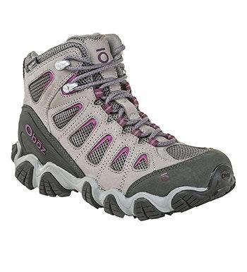Rugged, waterproof trekking boot.