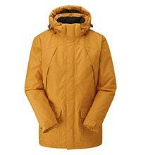 Waterproof, wadded winter coat.