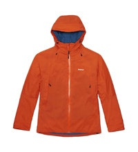 Insulated waterproof and breathable jacket.