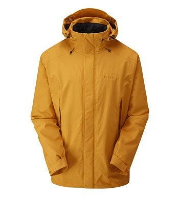 Waterproof and breathable hillwalking jacket.