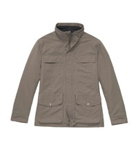 Multi-pocketed winter field jacket.