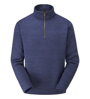 Classic mid-weight fleece with a ventilating neck zip.
