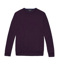 Classic crew-neck jumper in super soft extrafine merino.