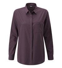 Versatile, easycare travel shirt.