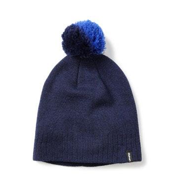 Luxury merino bobble hat.