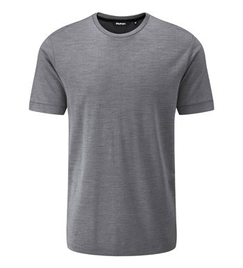 Merino and polyester blend base layer.