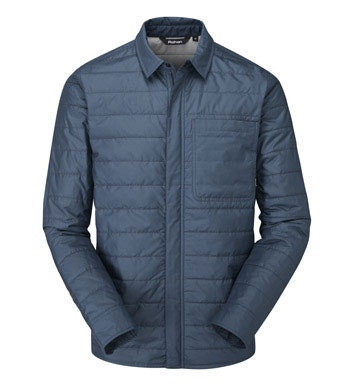 Technical, insulated jacket.