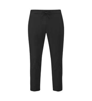 Classic black trouser for travel or work.
