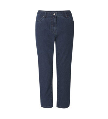 Perfectly normal jeans, just much cleverer and in a capri length cut.