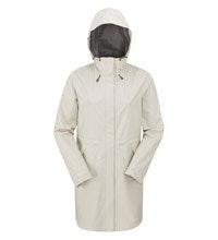 Lightweight, packable waterproof jacket.